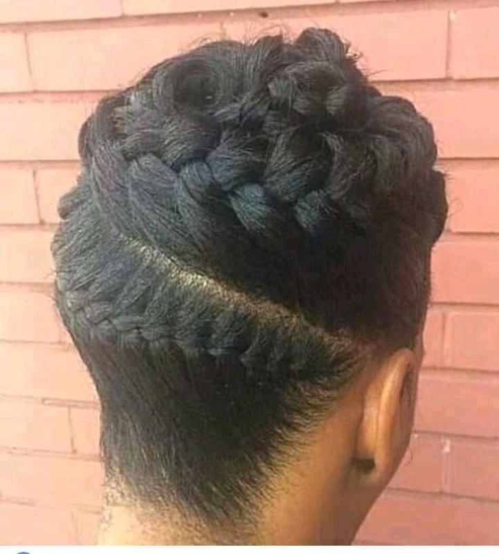 Astonishing Natural Hair Style Okay Waves Natural Hairstyles Runnerswayorg